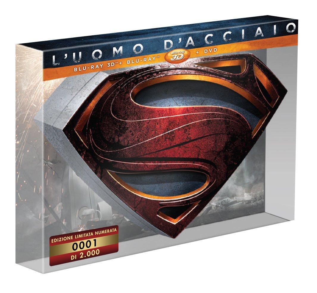 L'Uomo d'acciaio limited edition blu-ray ita