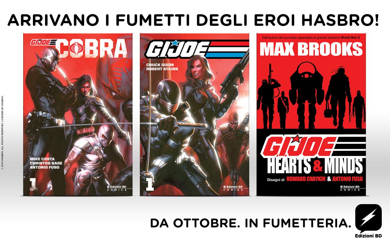 G.I. Joe Fumettii edizioni bd