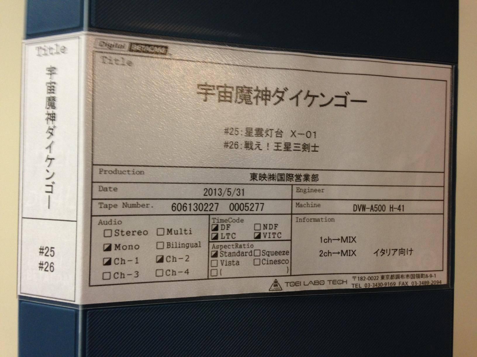 Daikengo scatola pacchetto yamato master giapponese