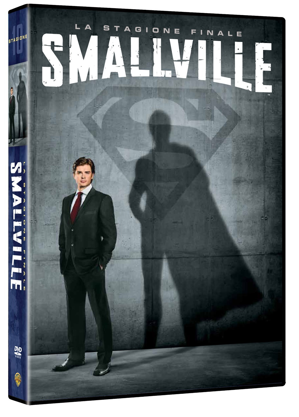 smallville 10 dvd box warner superman
