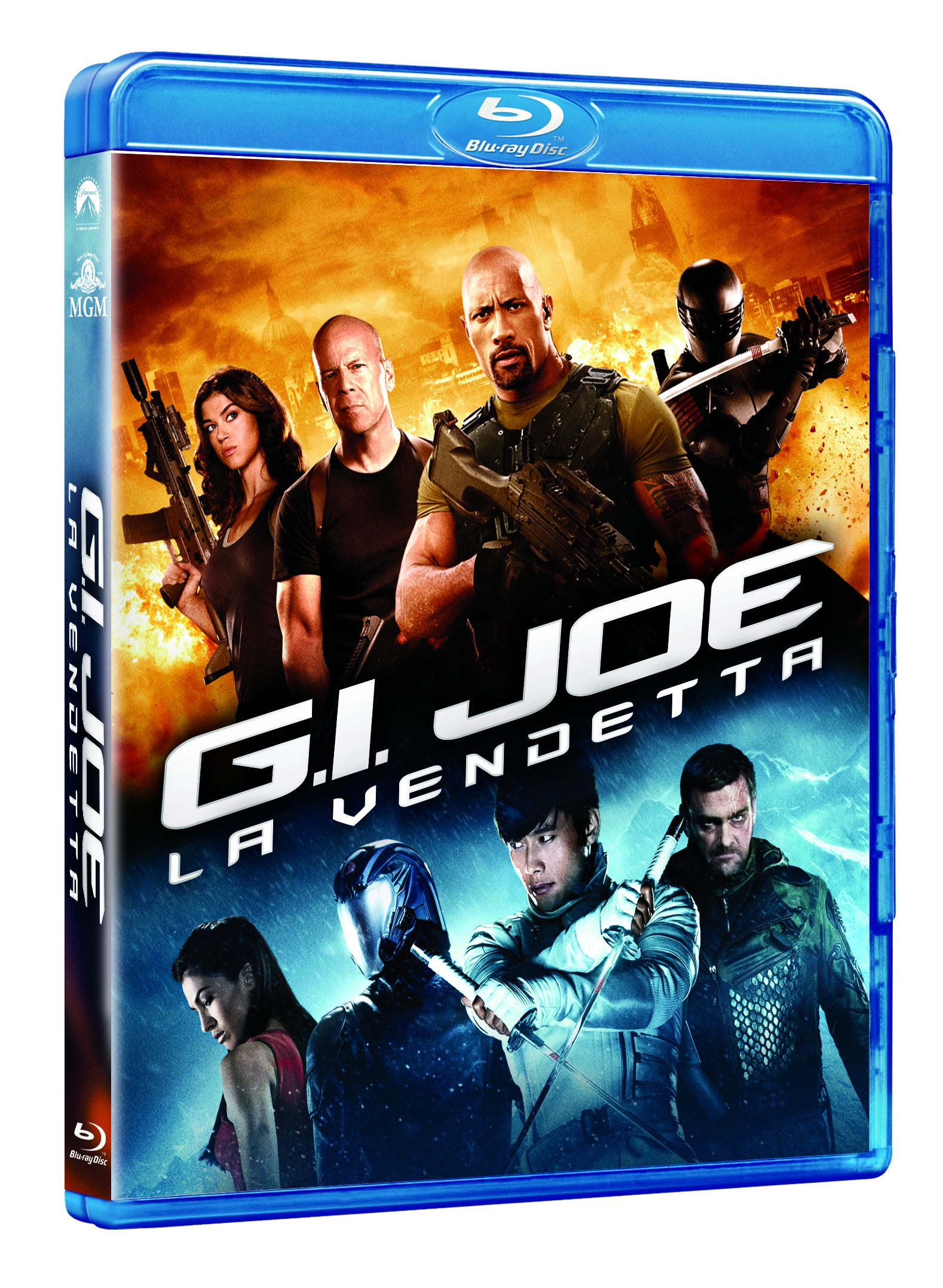 g.i. joe la vendetta blu-ray