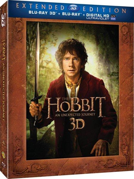 Lo Hobbit un viaggio inaspettato edizione estesa blu-ray 3d