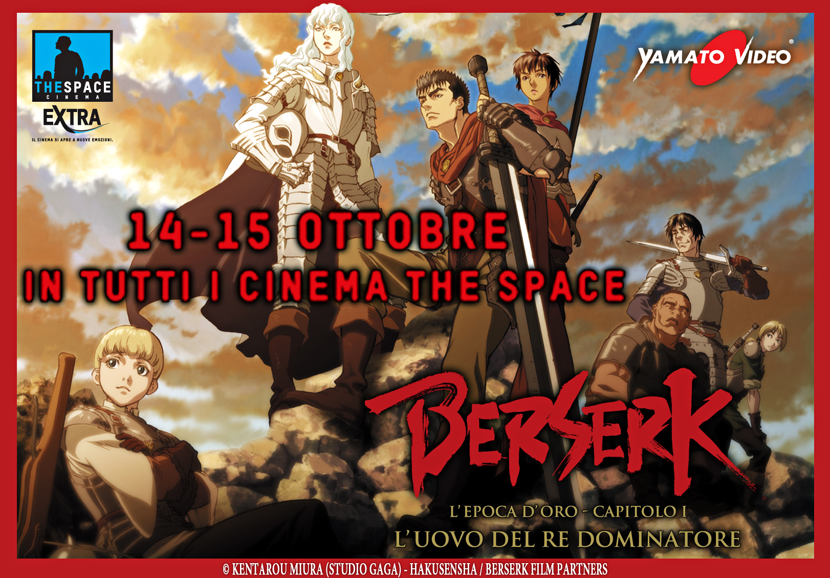berserk l'uovo del re conquistatore al cinema