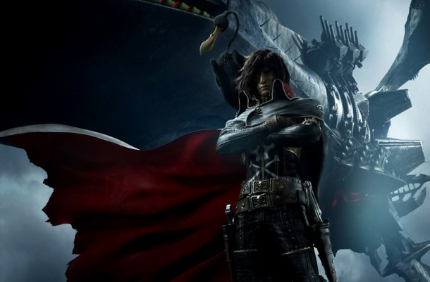 capitan harlock 3d lucky red