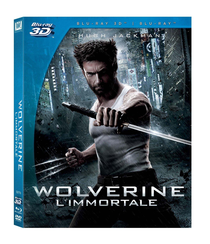 wolverine l'immortala blu-ray 3d