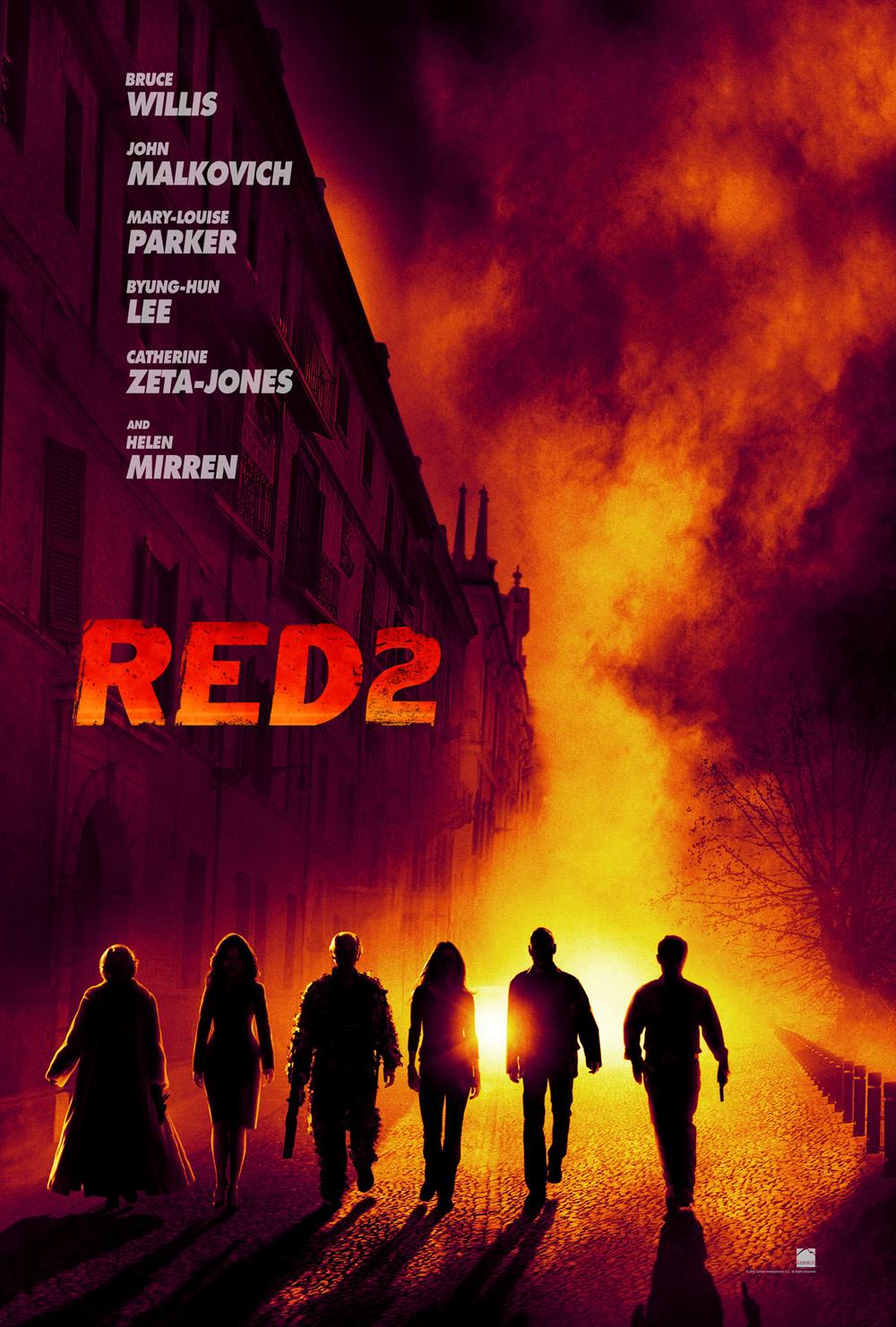 red 2 locandina