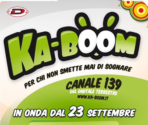 Ka-boom dynit anime