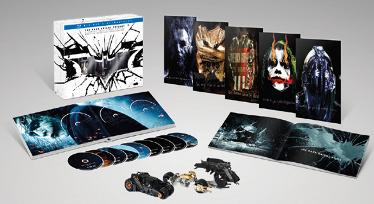 Batman Cavaliere Oscuro trilogia limited