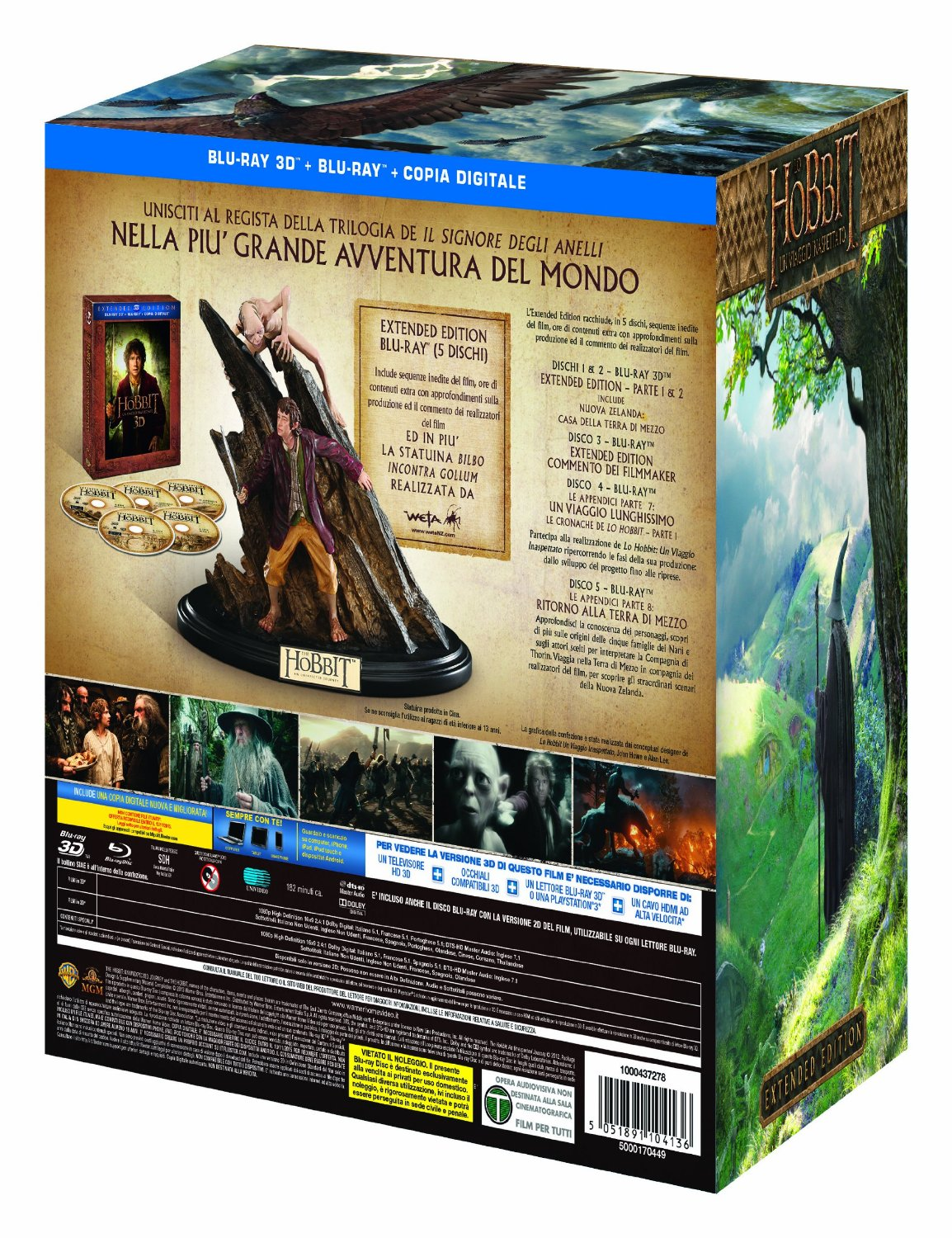 lo hobbit extended edition limited amazon