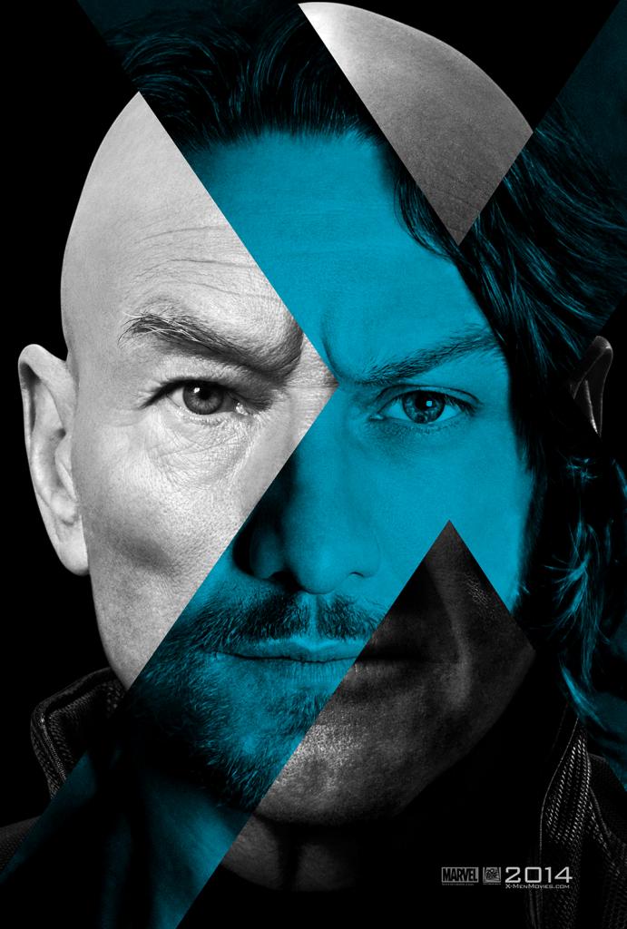 x-men giorni di un futuro xaver poster