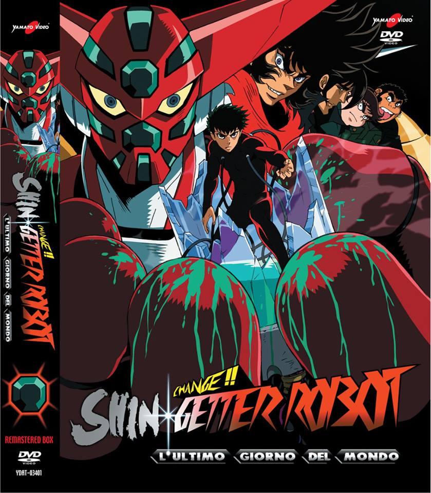 Change shin getter robot l'ultmmo giorno del mondo yamato dvd box cover