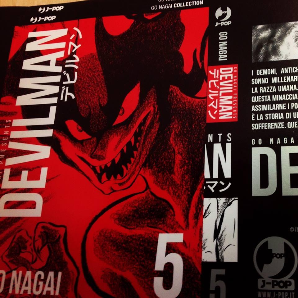 Devilman j-pop ovracoperta sostitutiva