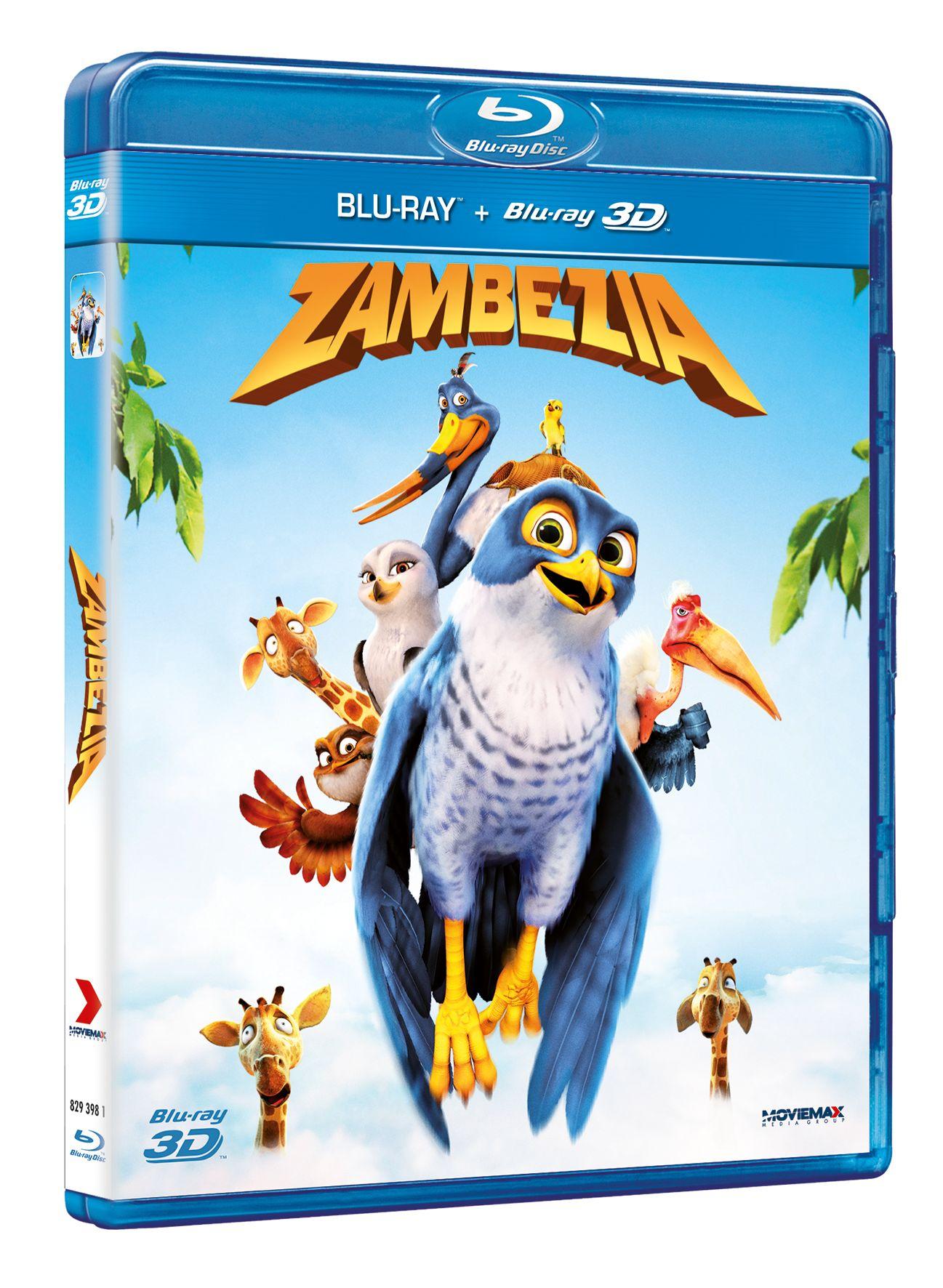 zambezia blu-ray 2d 3d