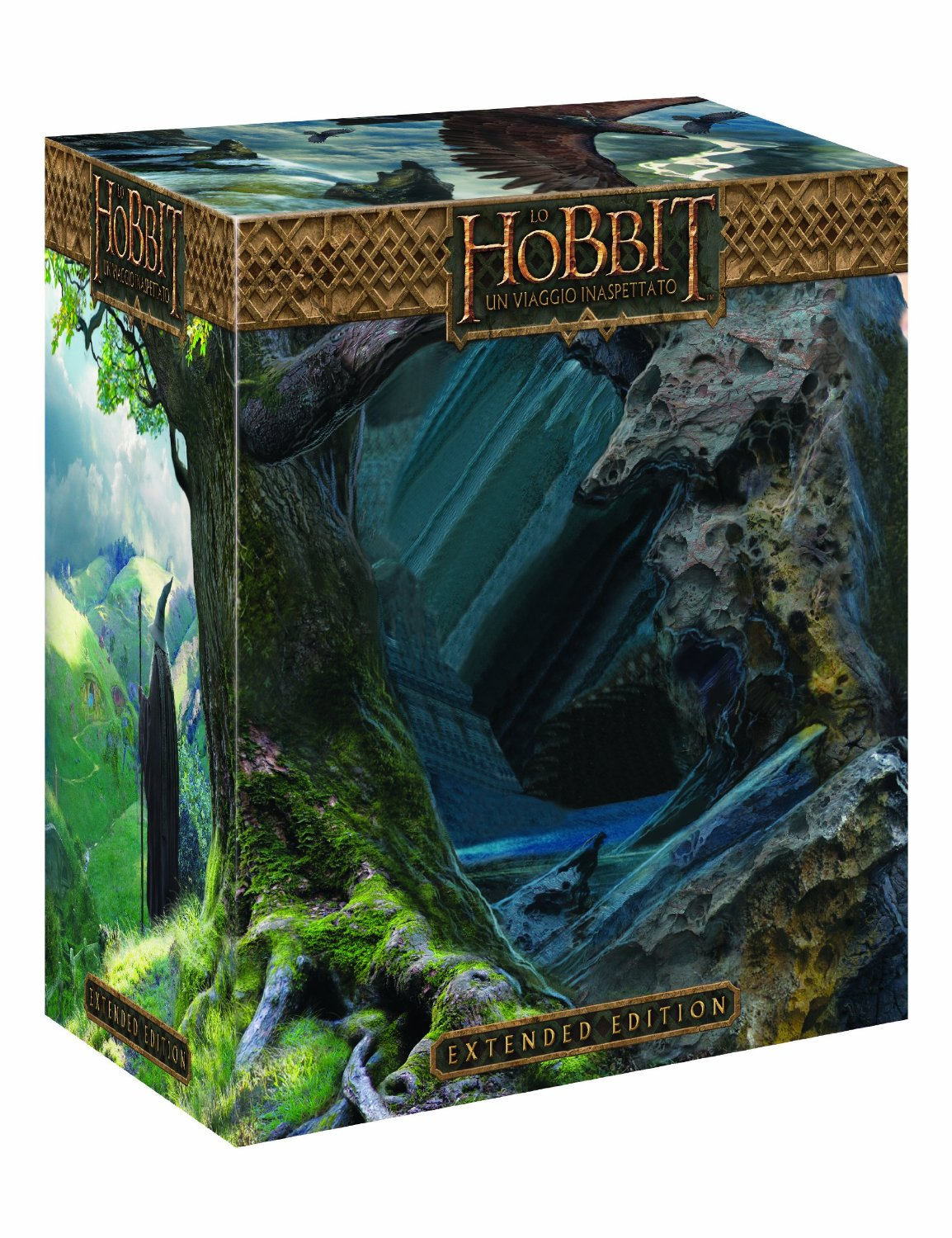 hobbit viaggio inaspettato extended edition limited amazon