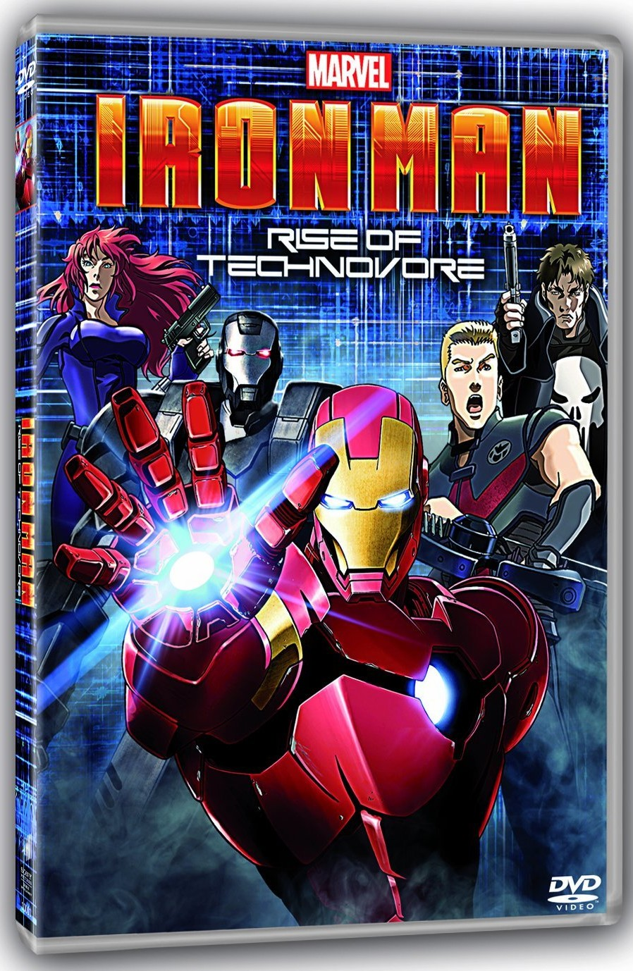 iron man rise of technovore dvd sony marvel