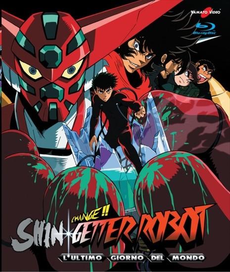 change shin getter robot l'ultimo giorno del mondo blu-ray cover yamato