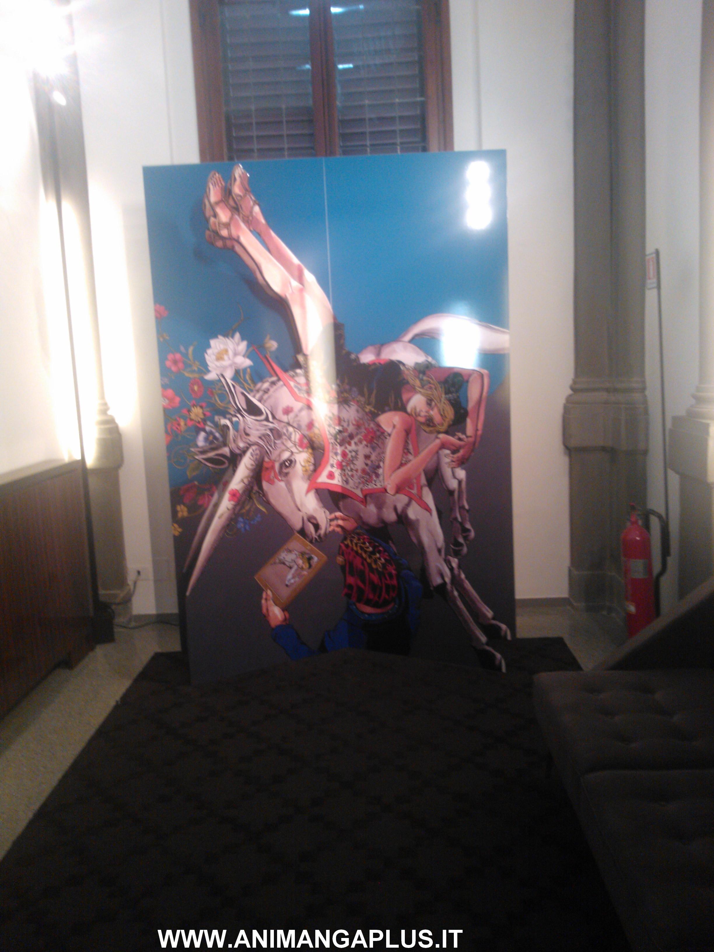 hirohiko araki jojo manga firenze gucci foto