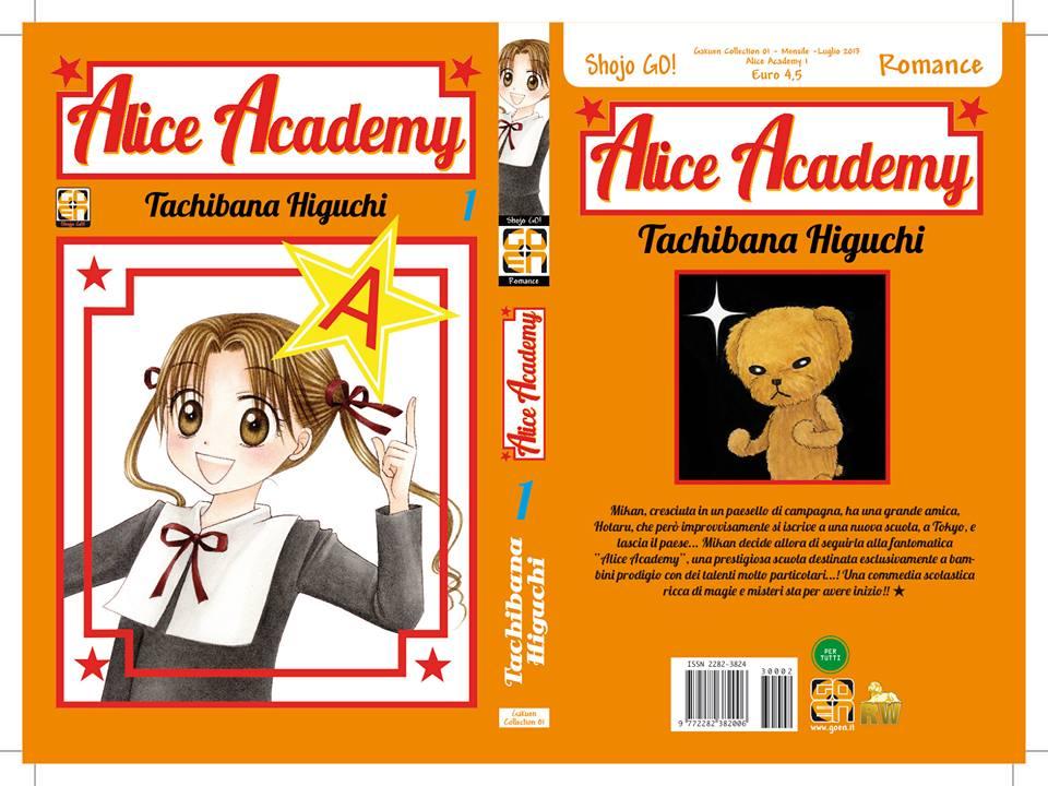 alice academy regular edition edicola cover goen