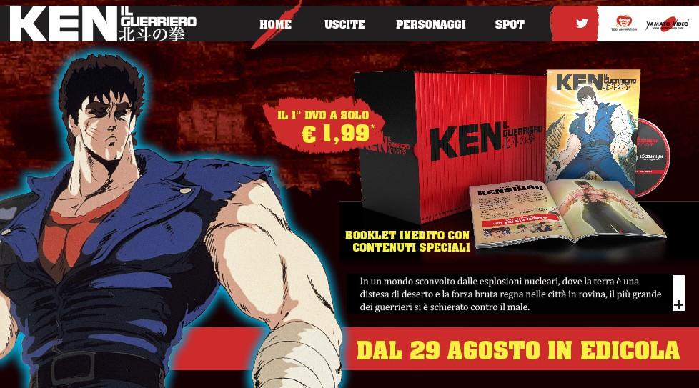 ken il guerriero gazzetta dello sport dvd