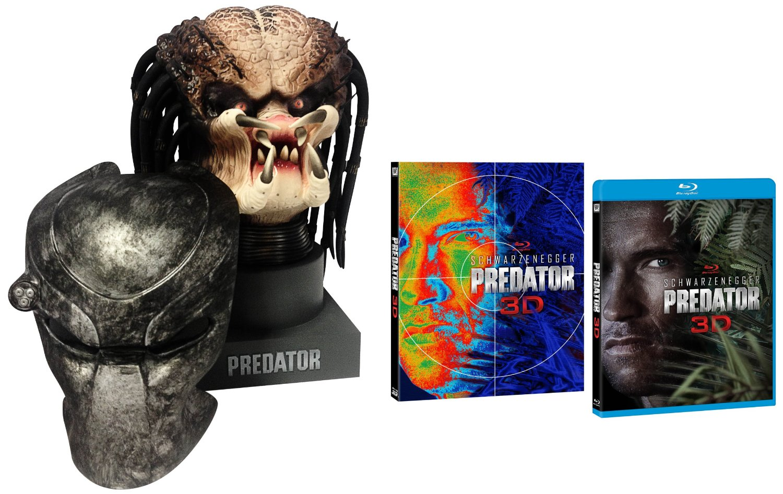 predator 3d, head, testa, limited