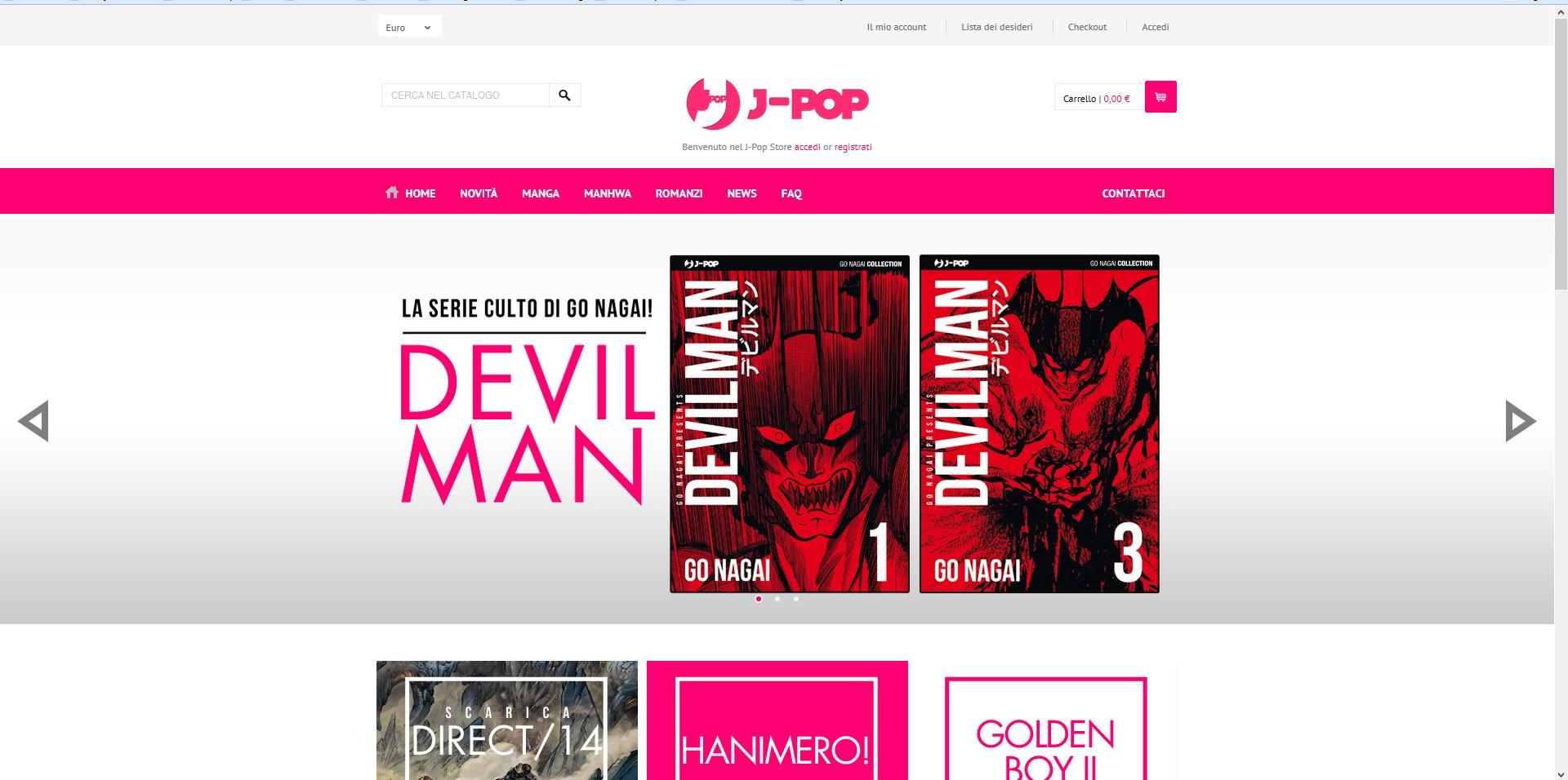 nuovo sito j-pop