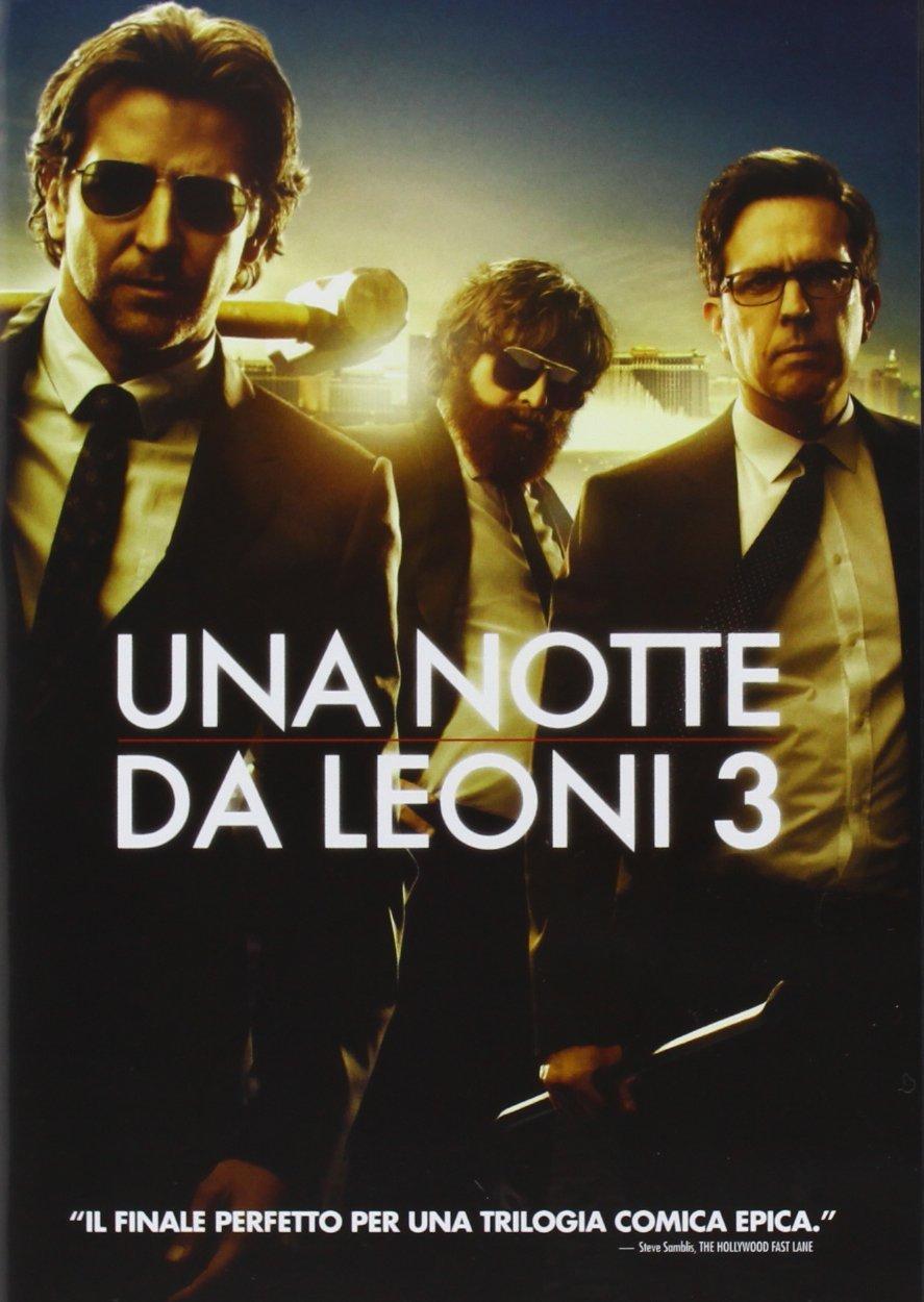 una notte da leoni 3 dvd